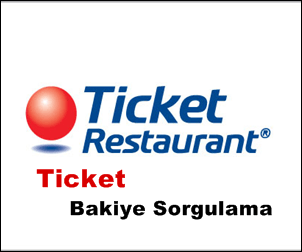Ticket Bakiye Sorgulama